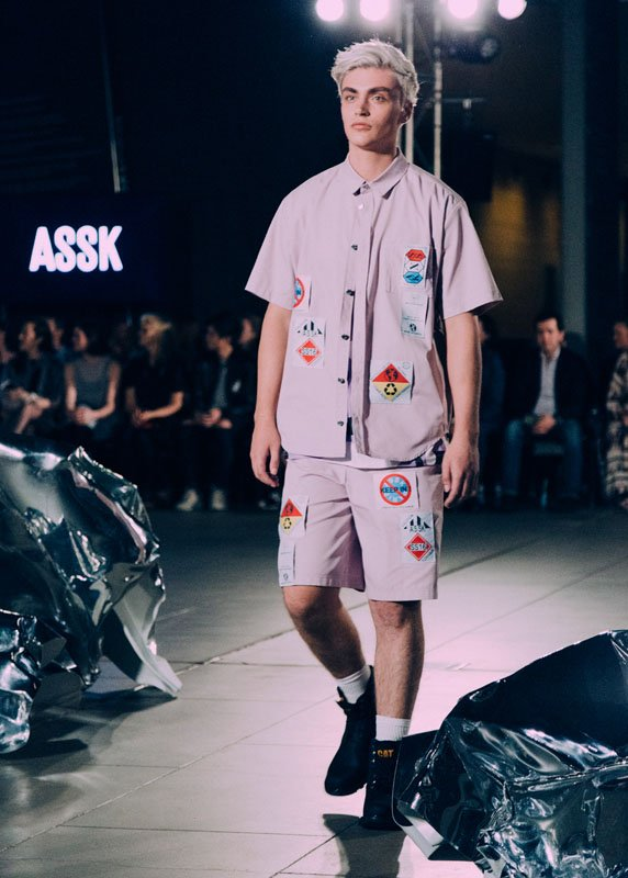 assk at VAMFF Discovery Runway 2015 by olivia mroz