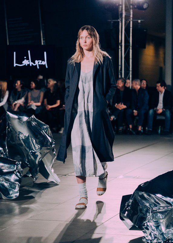 lois hazel at VAMFF Discovery Runway 2015 by olivia mroz