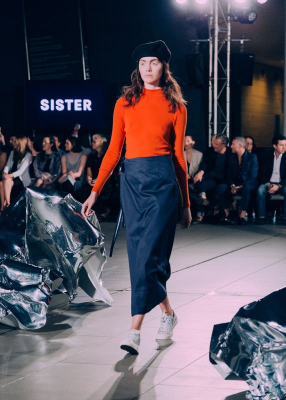 sister studios at VAMFF Discovery Runway 2015 by olivia mroz